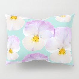 Pansies Dream #1 #floral #pattern #decor #art #society6 Pillow Sham