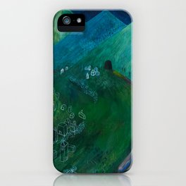Nisja: the night train 5 iPhone Case
