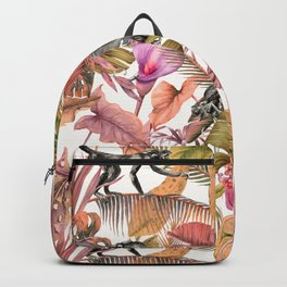 Paradise in the pink jungle II Backpack
