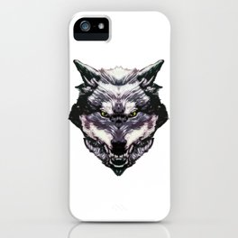 WereWolf Face King - 02 Color iPhone Case