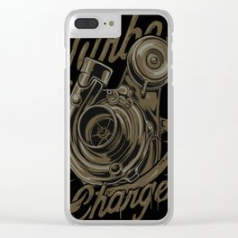 Turbo Charger Clear iPhone Case