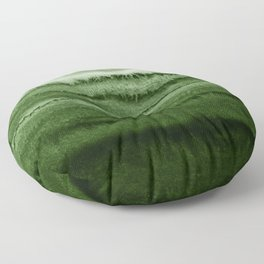WITHIN THE TIDES FOREST GREEN by Monika Strigel Floor Pillow