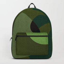 """""""Retro Green Super Dots"""" Backpack"""