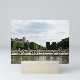 Luxembourg Gardens 14 Mini Art Print