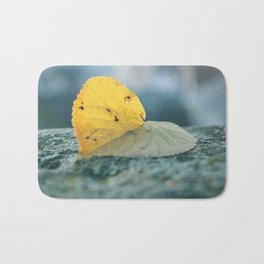 Leaf blues Bath Mat