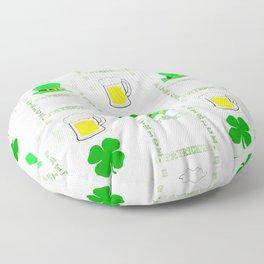 Luck Of The Irish Floor Pillow