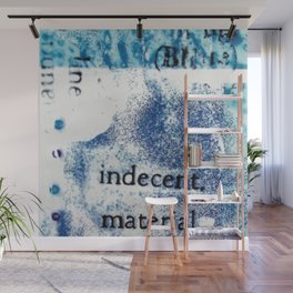 Indecent Material Wall Mural