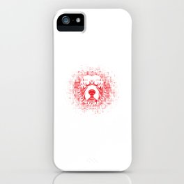 Cary Havoc let slep the dogs of war iPhone Case
