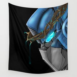 The thorns above his head Wall Tapestry