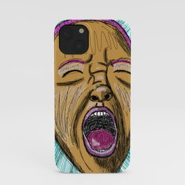 Let it out gurl - sketchy iPhone Case
