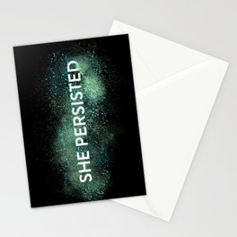 She Persisted - Turquoise Dust Stationery Cards