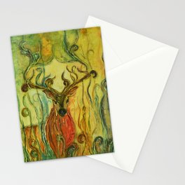 Whimsies 4 Stationery Cards