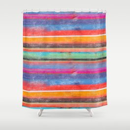 cosmic serape I Shower Curtain