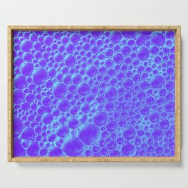Champagne Bubbles Collection: #7 – Purple Passion Serving Tray