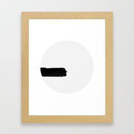 01F Framed Art Print