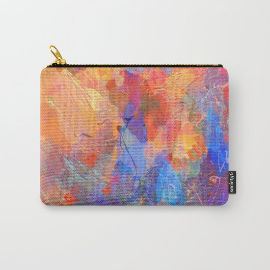 Abstract Texture 06 Carry-All Pouch