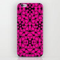 calavera iPhone & iPod Skins featuring Calavera by jikama azpeitia