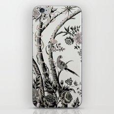 Peacock Tree Natural iPhone Skin