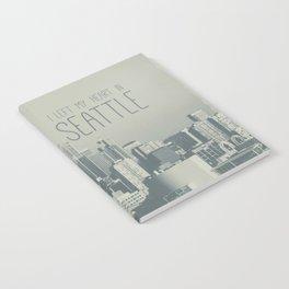 I LEFT MY HEART IN SEATTLE Notebook