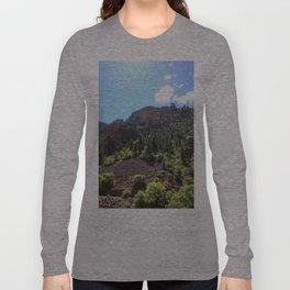 Jagged Edge Long Sleeve T-shirt