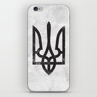 ukraine iPhone & iPod Skins featuring Ukraine by Sitchko Igor