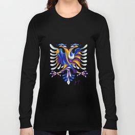 Kosovar (Albanian) Eagle Long Sleeve T-shirt