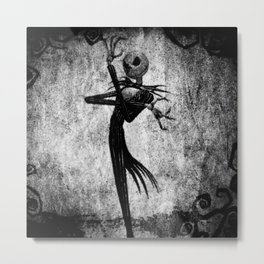 Jack Art Style Metal Print
