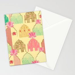 Art deco Indian elements Stationery Cards