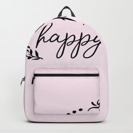 This Is Our Happy Place Backpack