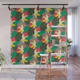 Tropical Bananatoos Wall Mural
