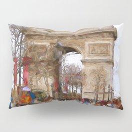 Arc de Triomphe Pillow Sham