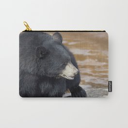 Black Bear (Ursus americans) near water Carry-All Pouch