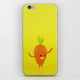 Carrot yum-yum iPhone Skin