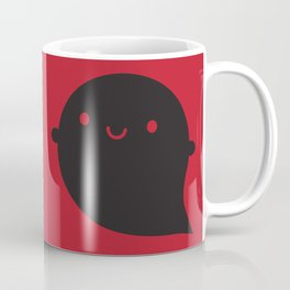 Evil Twin Black Ghost - Kawaii Halloween Coffee Mug