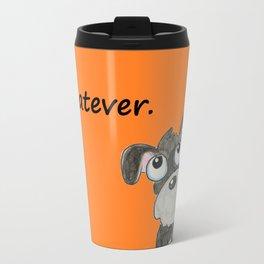 Couldn't care less Travel Mug