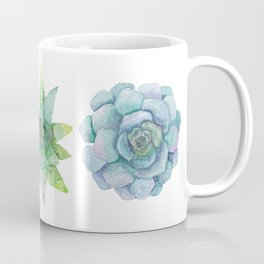 Watercolor Succulents No.2 Coffee Mug