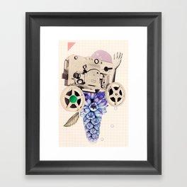 hazy pellicle Framed Art Print