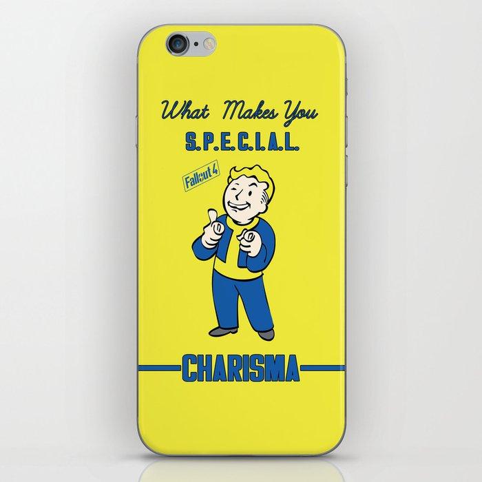 Charisma S P E C I A L  Fallout 4 iPhone Skin by sgrunfo