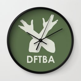 DFTBA Wall Clock