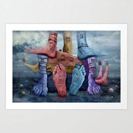 Another World 9 Art Print