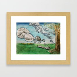Clouds of The Mind 1 Framed Art Print