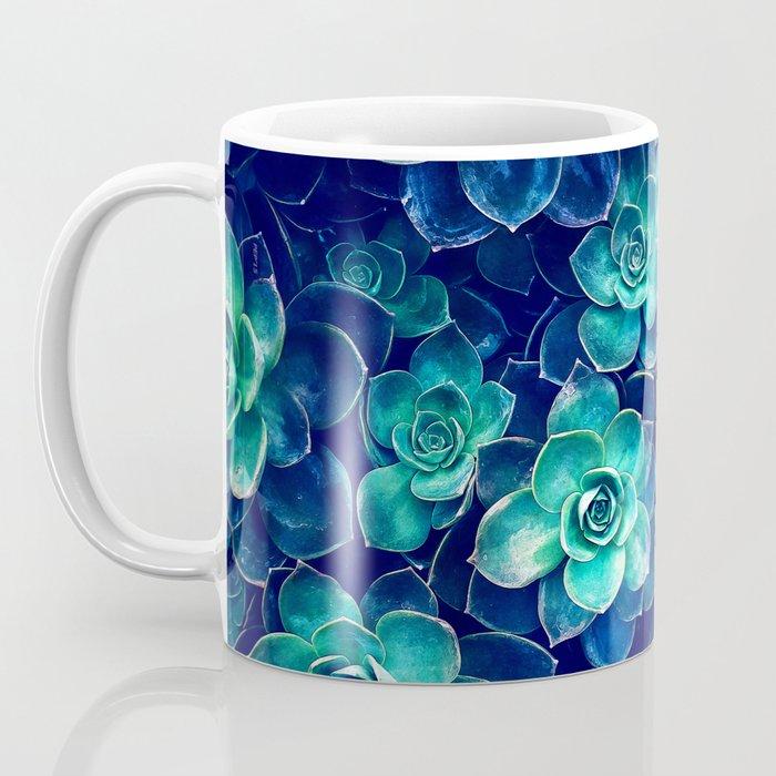 Plants of Blue And Green Coffee Mug
