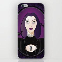 Goth Girl iPhone Skin