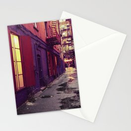 Evenings on the Lower East Side, New York City Stationery Cards