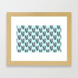 awesome koala pattern Framed Art Print