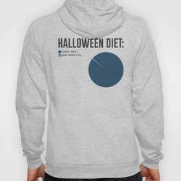 Halloween Diet Sweets Treats and Candy Design Hoody