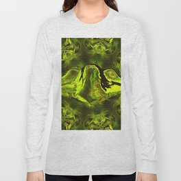 UFO Green Gold Long Sleeve T-shirt