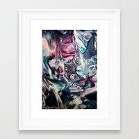 imagine Framed Art Prints featuring Imagine  by Stina ART de Luna