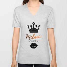 Melanin Queen Unisex V-Neck