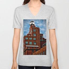 Natty Boh Tower, Canton, Baltimore Landmark, Maryland Unisex V-Neck